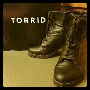 Torrid Lace-Up Boots